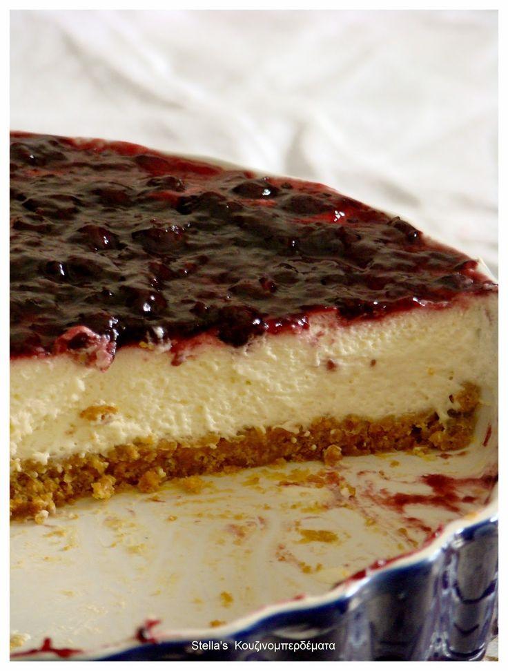 Stella's Κουζινομπερδέματα: Cheesecake-Τσίζκεικ, Το Κλασικό