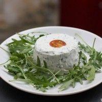 Terrine de fromage frais aux herbes, de Michel Guérard