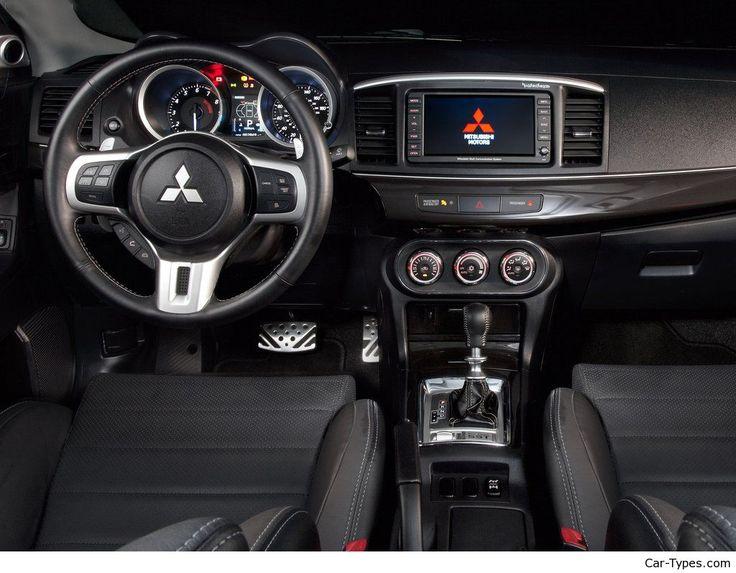 mitsubishi evo x review - Mitsubishi Evo 7 Interior