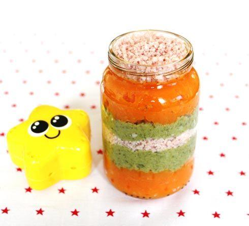 recette duo légumes et jambon