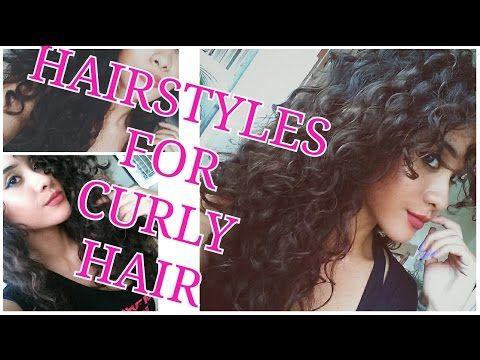 peinados pin up para cabello rizado - YouTube