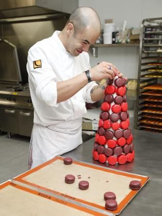 Adriano Zumbo... I wish I could bake pastries and macarons like this guy!