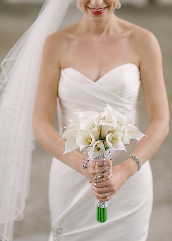 Calla Lily Bouquet White Calla Lily Bouquet  by shannonkristina, $95.00