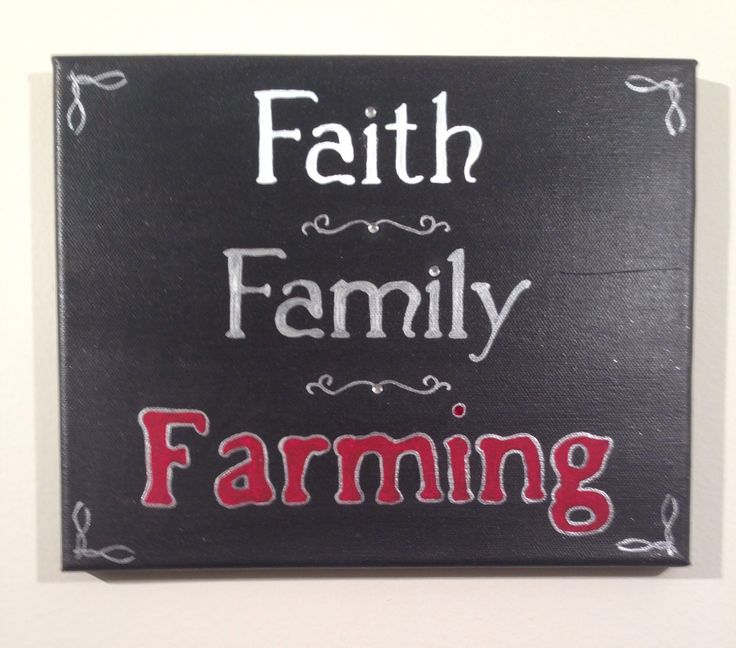 Faith Family Farming Case IH-Farmall-International 8x10 handpainted canvas