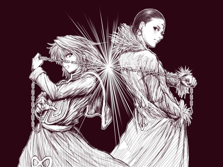 Kurapika and Chollo - Hunter x Hunter