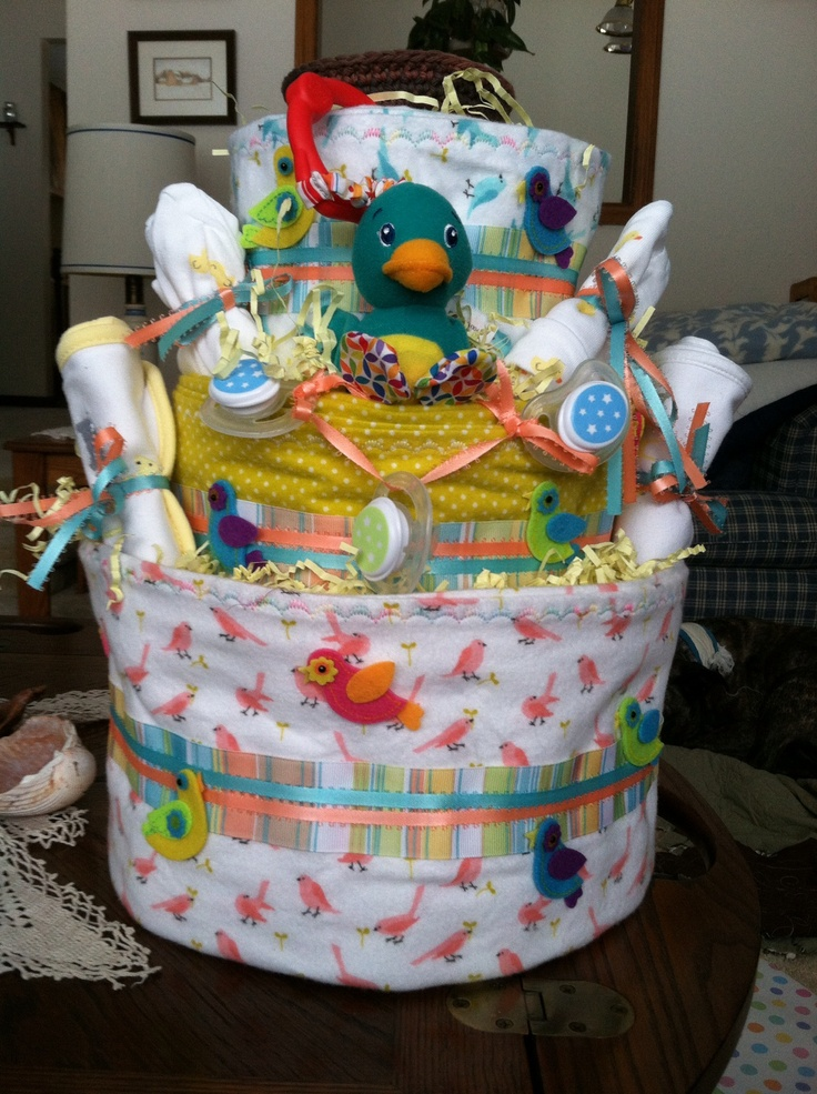 17 best images about baby shower baby bird theme on pinterest for Baby themed fabric