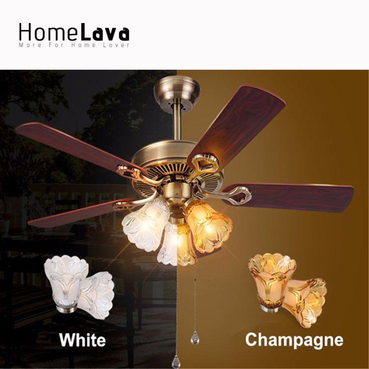 Luxury Crystal Invisible Ceiling Fan Remote Control Living Dining Room Bedroom Decorative 220 Volt Fan Lamp Ventilador De Teto#ceiling fan crystal chandelier