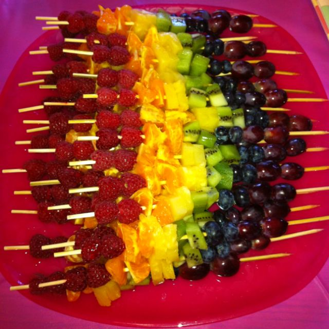 Speakers Bureau >> I made fruit kabobs for brunch today! | Yummy Joy | Pinterest | Fruit kabobs, Kabobs and Brunch