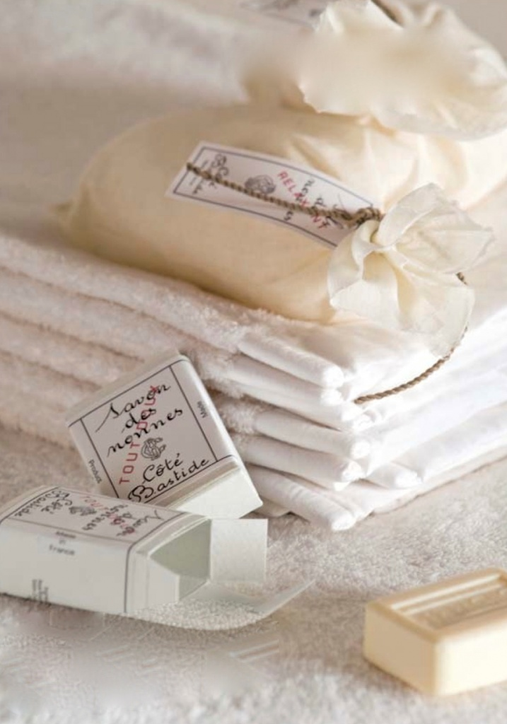 Towels And French Soap
