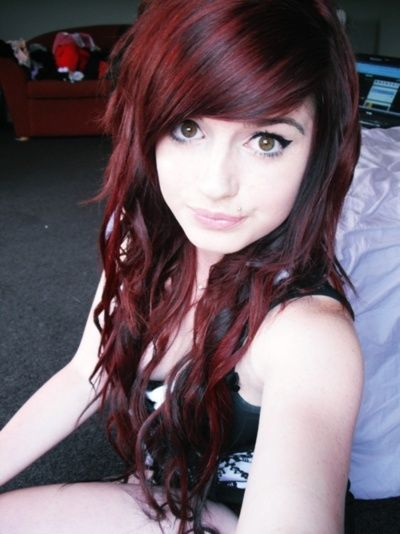 Red Hair With Black Lowlights Www Pixshark Com Images