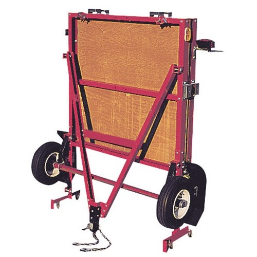 "1195 Lb. Capacity 48"" x 96"" Heavy Duty Foldable Utility Trailer with 12"" Wheels  Another Option"