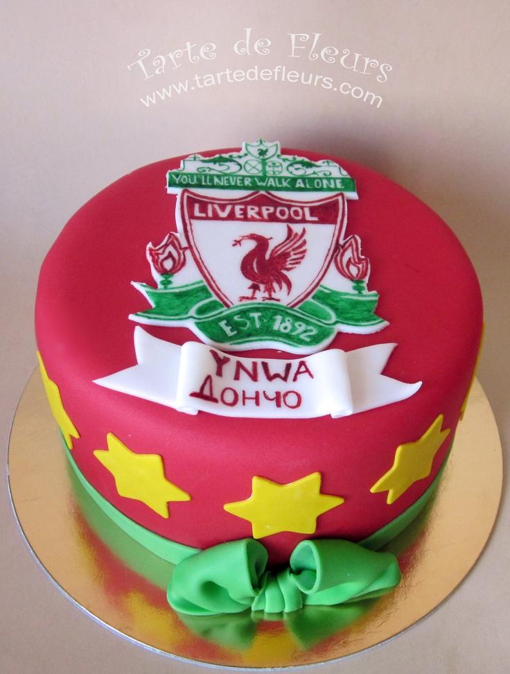 Liverpool FC Birthday Cake please?!
