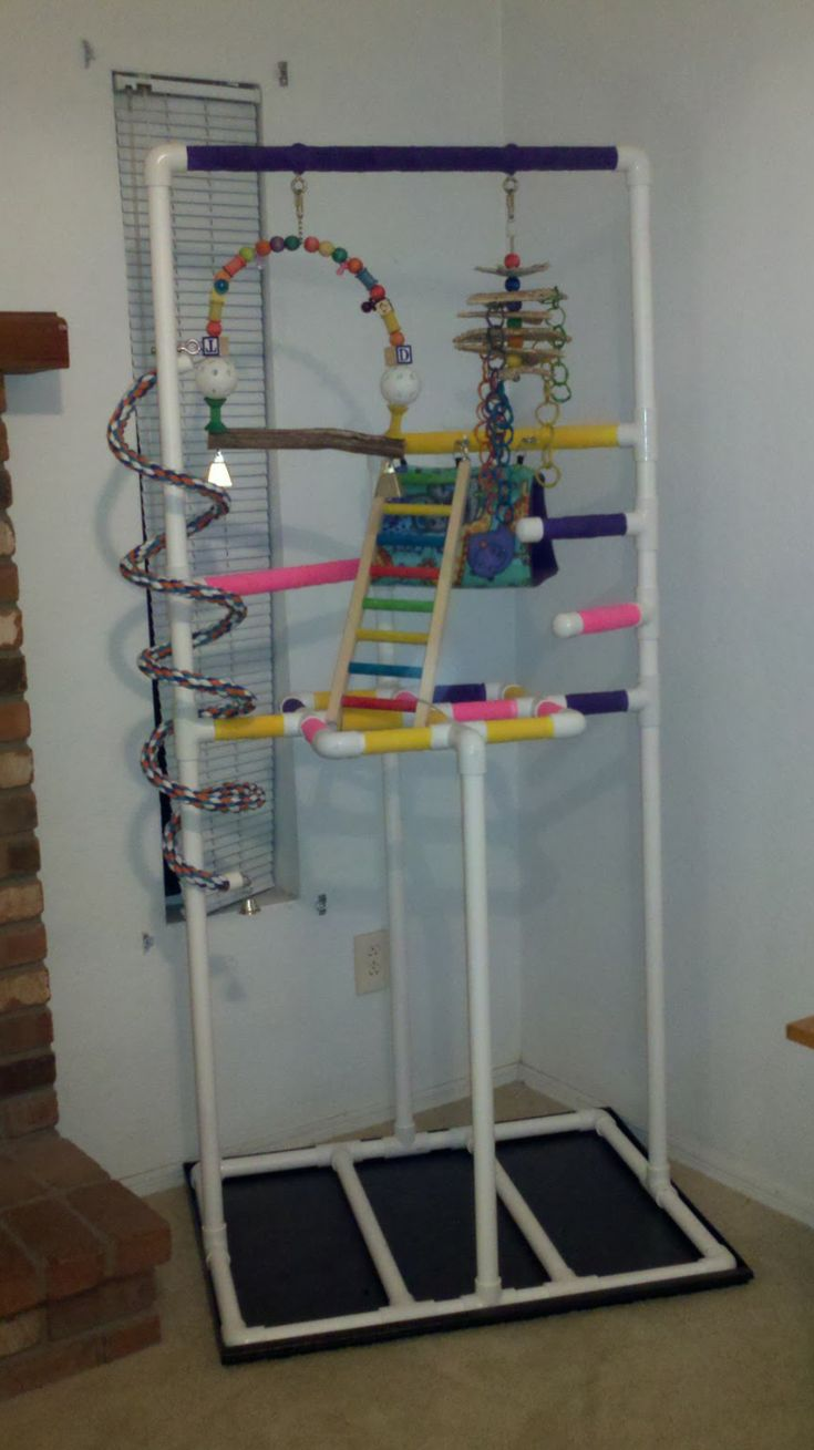 17 Best Images About Creative Ideas Of Pvc Parrot Playgym