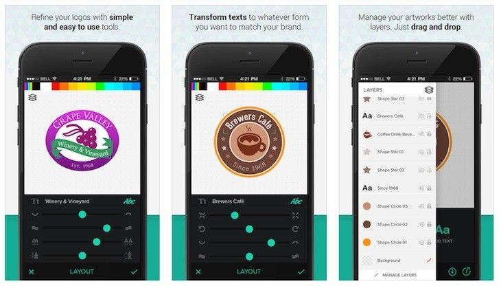 AppsUser: Logo Foundry, app que te permite crear logos profesionales