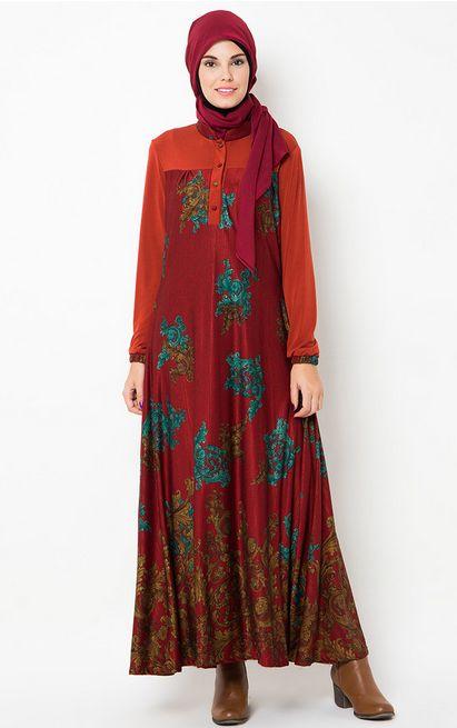 Contoh Foto Baju Muslim Batik Untuk Wanita Gamis Ji9TyE4