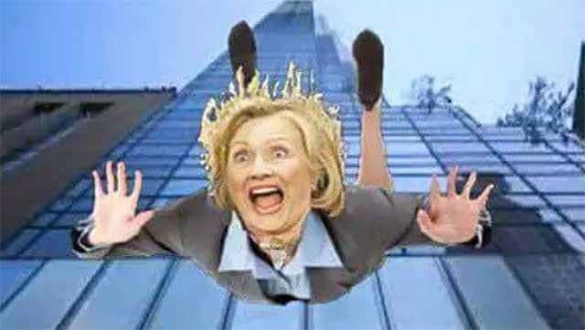 Hillary to drop out anytime soon due to a brain tumor the size of an egg. -- She is in melt down mode now....take a look at the photos of the psychotic soulless ghoul from the DNC (Dirty Nasty Crooks)....eyes bugged out...look of total insanity....just waiting for her head to do a 360° spin while facing the cameras on national TV....it's coming...just watch!!