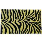 Wild 18 in. x 30 in. Decorative Front Door Mat, Yellow-Black