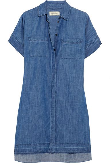 Madewell - Denim Shirt Dress - Blue - x small