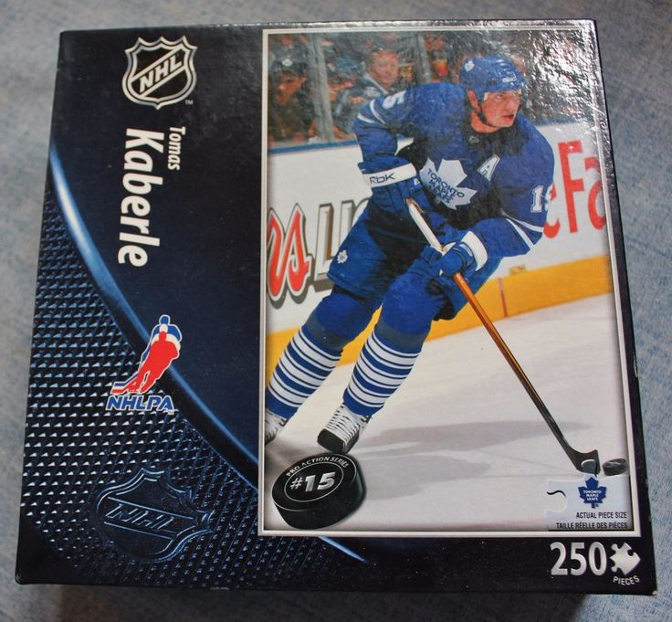 NHL Toronto Maple Leafs Tomas Kaberle 250 Piece Jigsaw Puzzle New in Box Sealed #TopDogCollectibles