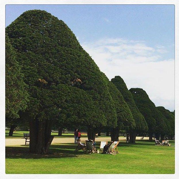 Hampton Court Palace, #Lontoo. Hieno kesätunnelma, kiitos kuvasta @annamaijam! Mitä hauskaa sinä bongasit lomalla, tägää kuva meille #mondolöytö - jaamme suosituksia täällä ja lehdessä. #englanti #london #mondolehti