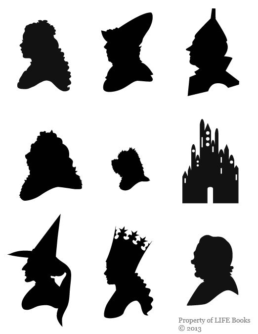 Wizard Of Oz Lion Silhouette