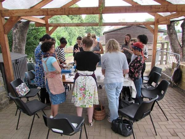 We're making cold remedies in this upcoming workshop later in October Surrey Docks Farm