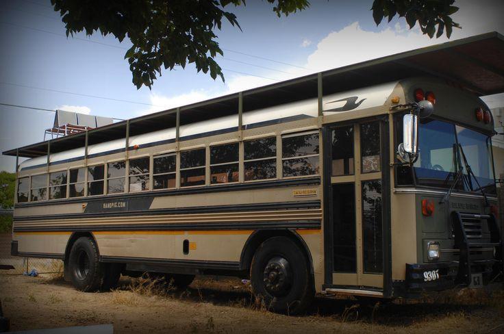 School Bus Rv Toy Hauler Google Search Diy Full Time