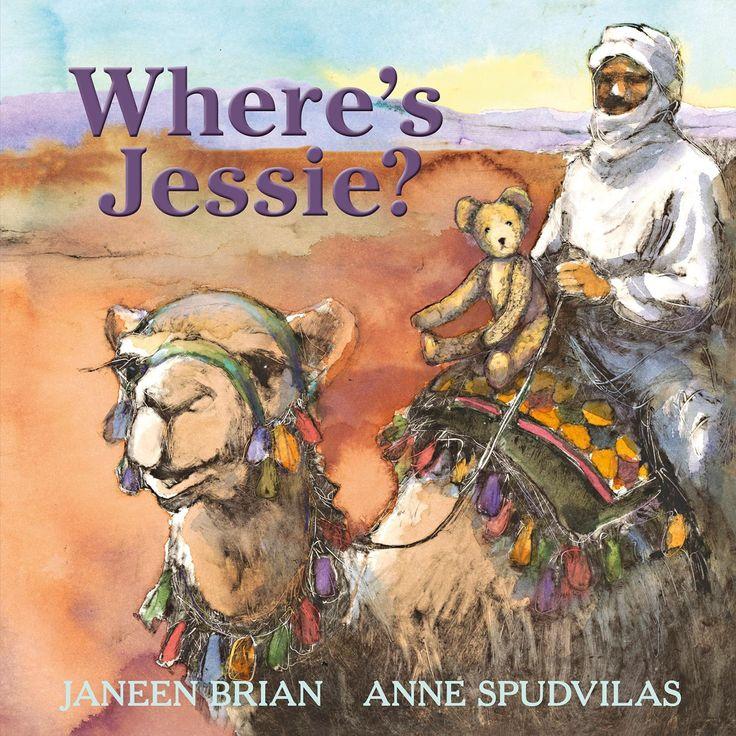 Children's Book Review, Where's Jessie? #bookweek16