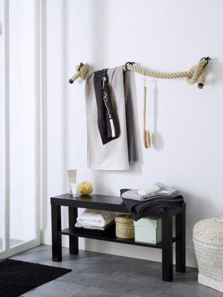 Regale von der Stange sind nicht Ihr Ding? Dann bauen Sie sich Ihr Badezimmerregal doch einfach selbst.