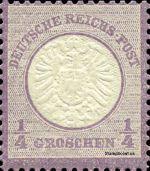 1/4 Groschen - Michel Nr. 16 - Stamp Values: * 95€ / Ø 135€