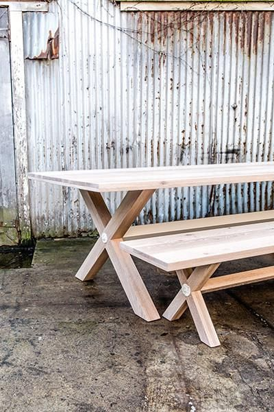 Gather around the Linton Table from Union Wood Co.