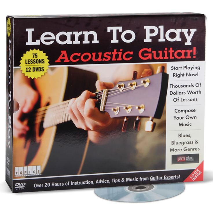 Learn to Play Guitar DVD | eBay