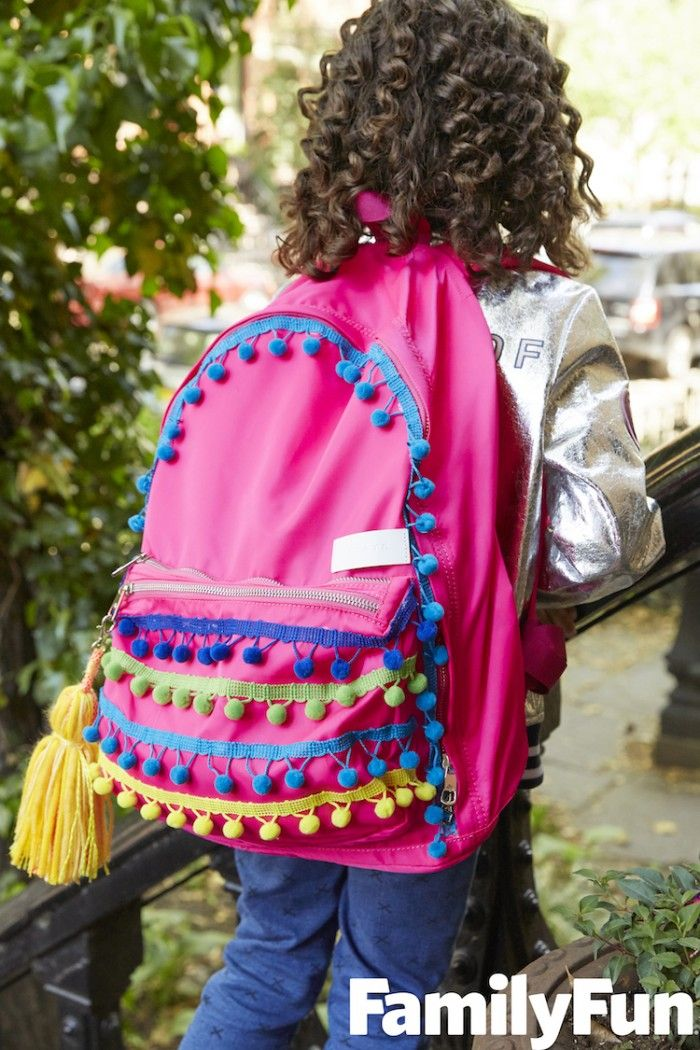 Why buy a new backpack - when you can get creative and makeover the one you already have? Kids will LOVE these unique ideas for personalized backpacks!