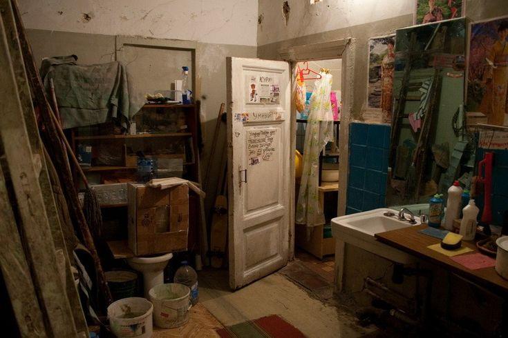 старые московские коммуналки фото здание может ослепить