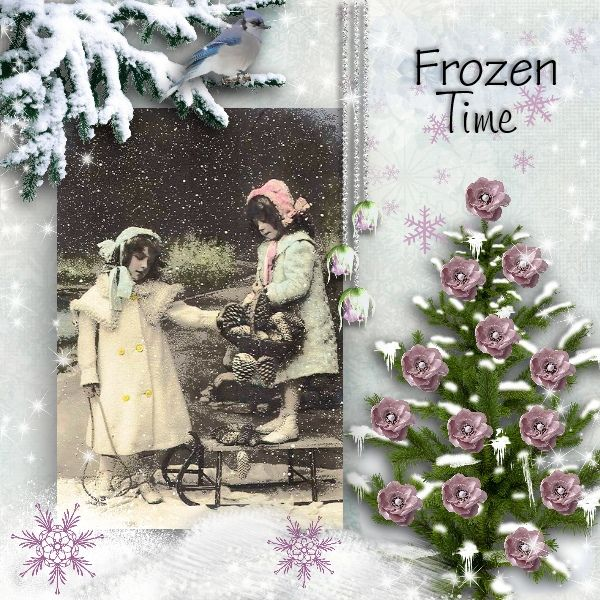 kit FROZEN TIME by Bee creations