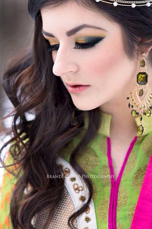 Makeup Done By Me Riti Arabic East Indian Bridal