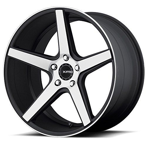 One KMC Satin Black w/ Machined Face KM685 District Wheel/Rim - 18x8 - 5x114.3 - +38mm Satin Blackwith Machined Face And Register Lifetime structural and a one-year finish warranty against peeling or lifting of finish Price is per wheel https://automotive.boutiquecloset.com/product/one-kmc-satin-black-w-machined-face-km685-district-wheelrim-18x8-5x114-3-38mm/