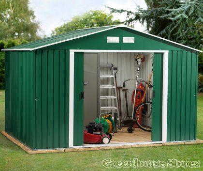 Garden Sheds Metal best 20+ metal sheds for sale ideas on pinterest | pole barns for