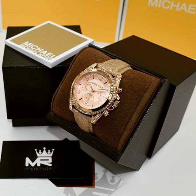 Michael Kors MK5461 | @MyRich.de #MichaelKors #michaelkorswatch #mk #logo #original #official #watch #style #uhr #trend #life #new #chronograph #lifestyle #brand #market #luxus #juwelry #luxury #lady #fashion #time #timezone #special #rosé #rosegold #leather #accessories #crystal
