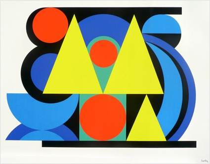 AUGUSTE HERBIN expresionismo abstracto
