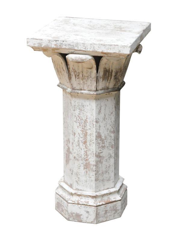 podstavec - antický sloup / stylový toskánský nábytek