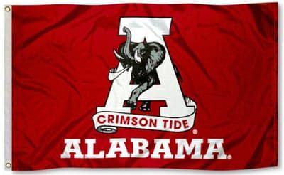 3X5 Alabama Crimson Tide Vintage Flag