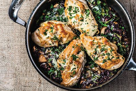 Weeknight Dinner Ideas: Wild Rice Chicken Skillet