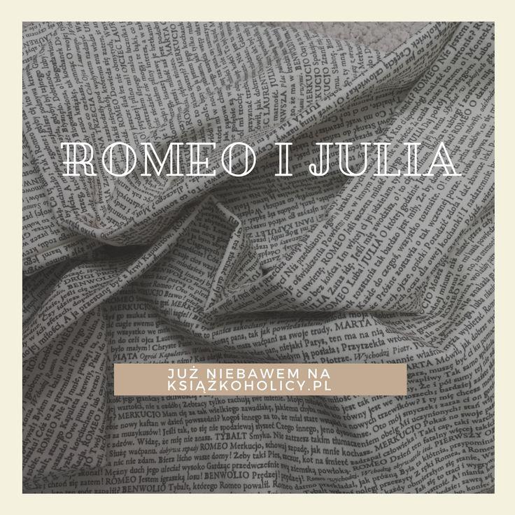 Fantastyczne satynowe szale z tekstem Romeo i Julia # książka