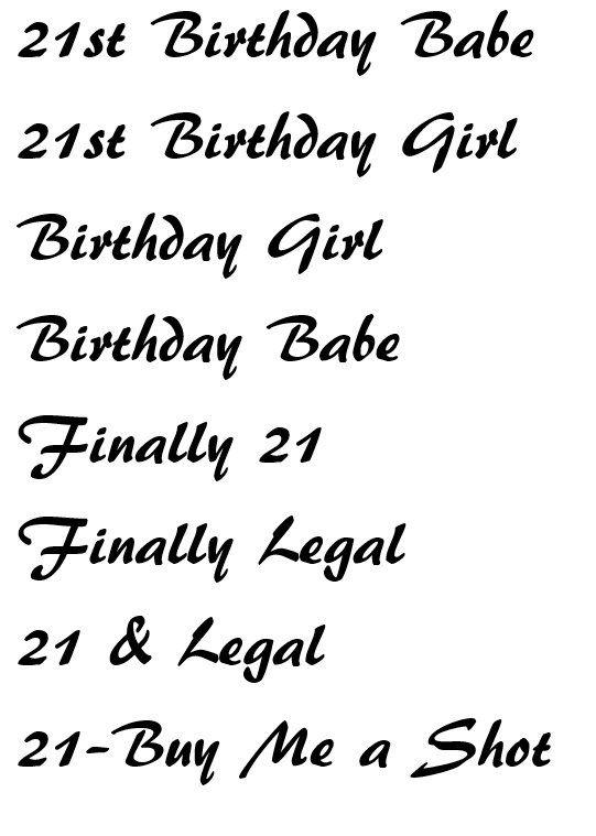 21st Birthday Sash by LavishSashesbyLupita on Etsy