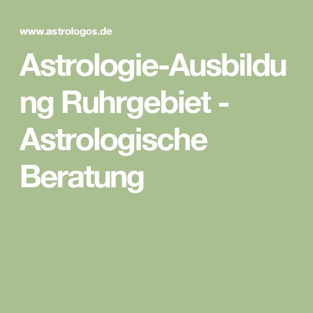 Astrologie-Ausbildung Ruhrgebiet - Astrologische Beratung