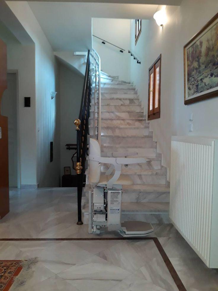 ΝΕΑ ΕΓΚΑΤΑΣΤΑΣΗ ΣΤΗ ΚΩ! Στο πανέμορφο νησί της ΚΩ εγκατα-στήσαμε ένα ακόμα μοντέλο SIENA για περιστροφικές σκάλες. Λόγω των συνεχών εγκαταστάσεων, οι μηχανικοί μας βρίσκονται σε τακτά χρονικά διαστήματα σε όλη την Ελλάδα.