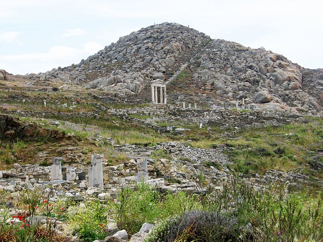 Mt. Kynthos, Delos, Greece