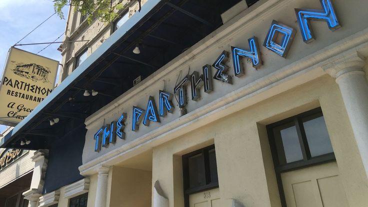 The Parthenon, Chicago's Greektown Landmark & Flaming Cheese Creator, Has…