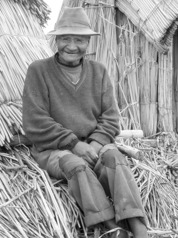 An Old Man of Uros by Carl Ottersen on 500px